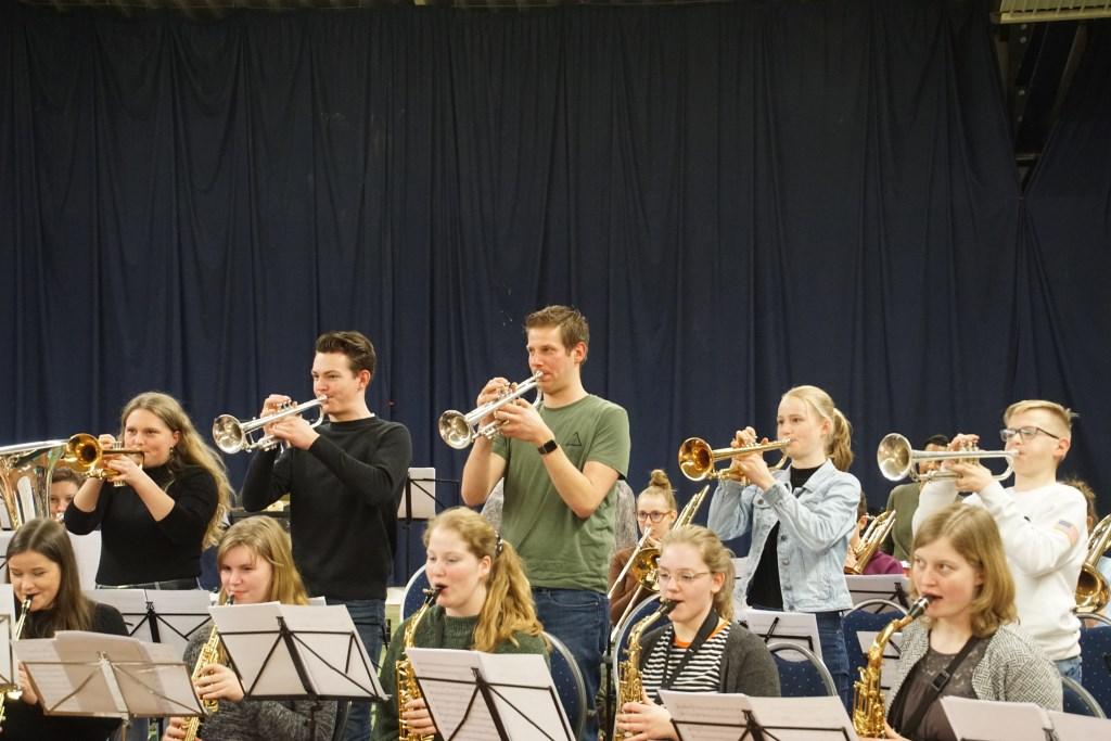 Repetitie voor Geluksvogel. Foto: Frank Vinkenvleugel  © Achterhoek Nieuws b.v.