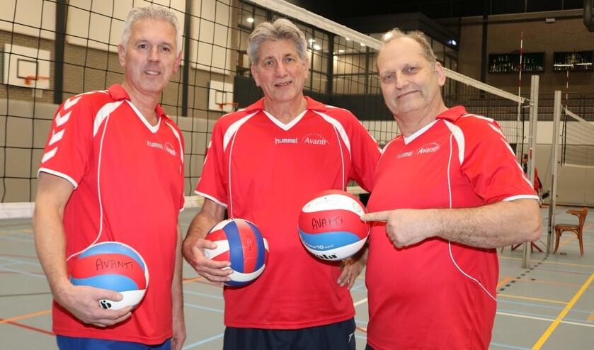 V.l.n.r. Tjeerd Boomsma, Boudewijn Krijger en Jan Bollen. Foto: Arjen Dieperink