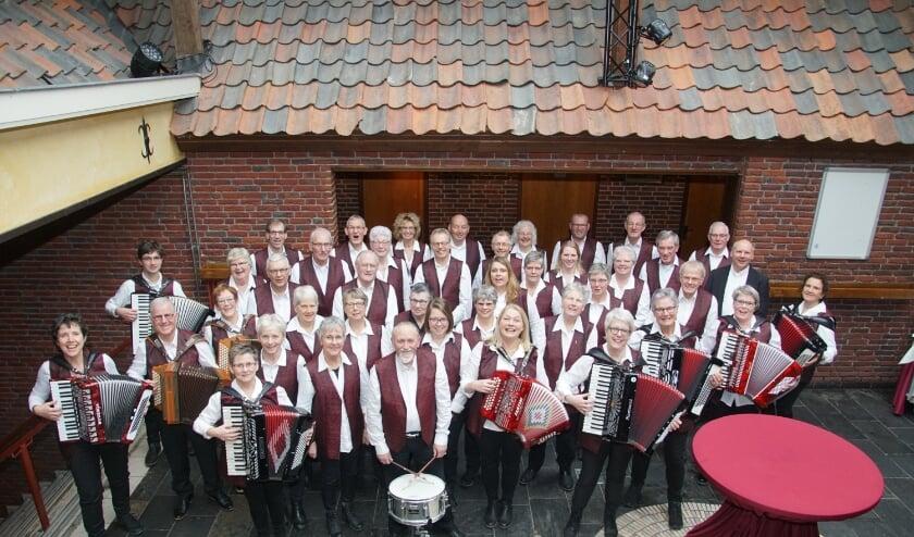 Varsseldse Akkordeon Vereniging. Foto: Dhr. Vinkenvleugel