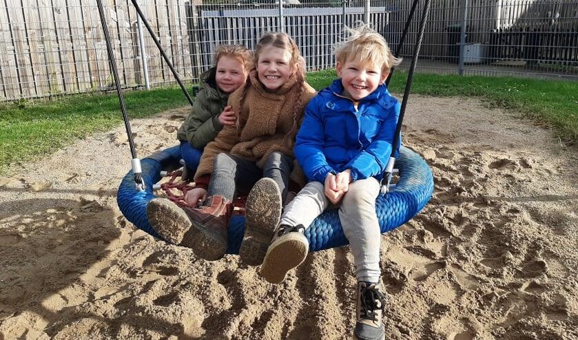Vanaf 1 april is de speeltuin aan de Pagematestraat weer geopend voor de buurt. Foto: Meike Wesselink