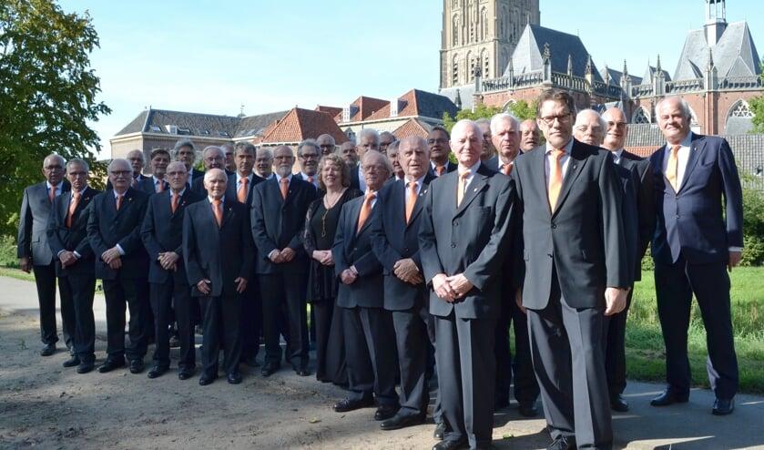 Het Koninklijk Zutphens Mannenkoor. Foto: PR