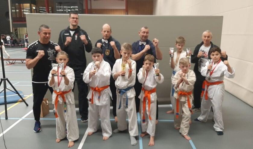 De Winterswijkse karateka's.Foto: PR