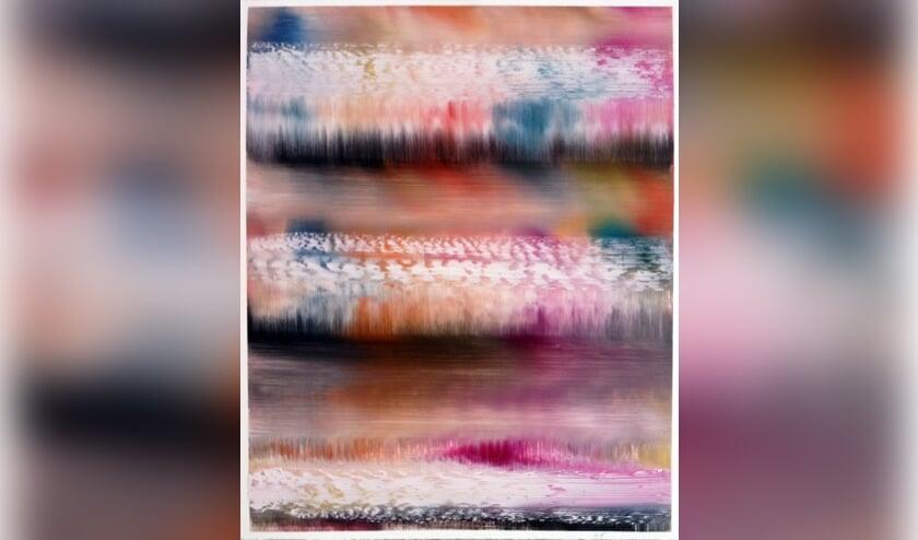 Een van de werken van Lon Godin. Foto: PR