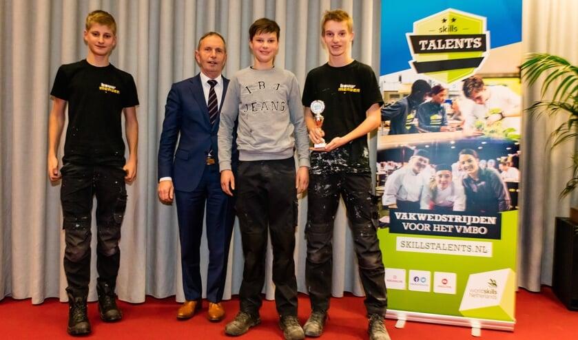 De winnaars van de Skills Talents-wedstrijd.
