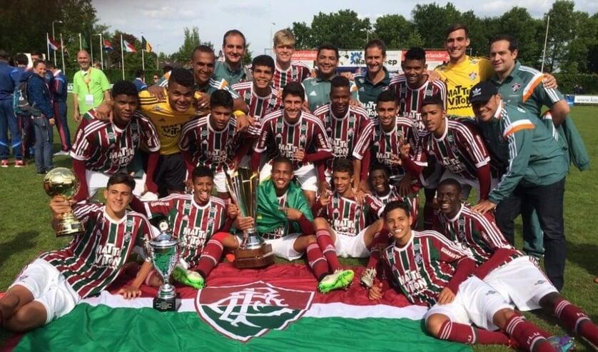 Voor viervoudig landskampioen Fluminense  uit Rio de Janeiro kwamen talloze bekende voetballers uit. Foto:PR