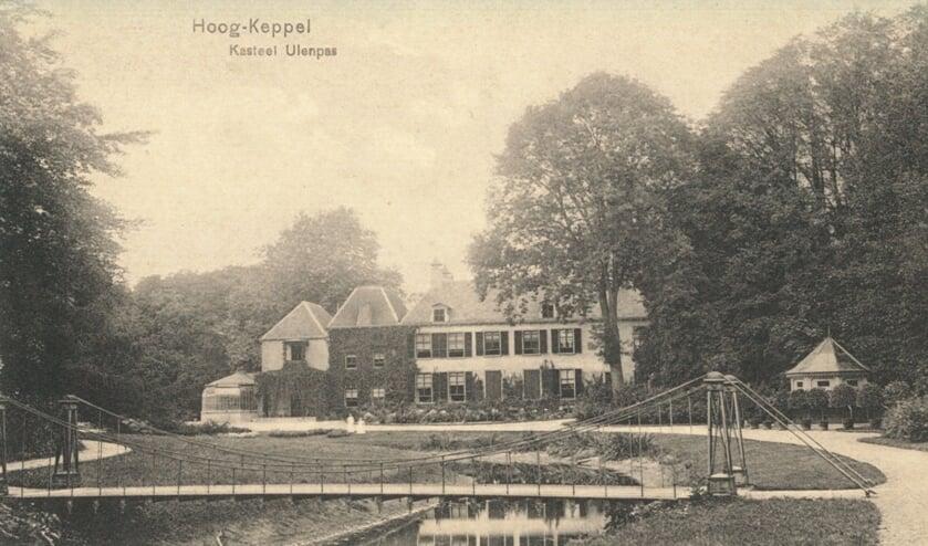 Kasteel Ulenpas Hoog-Keppel, ca. 1910. Foto: Erfgoedcentrum Achterhoek en Liemers