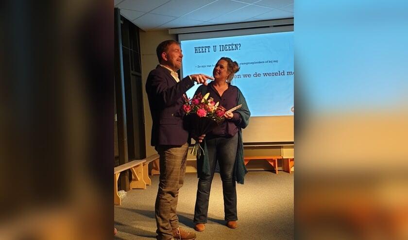 Harm Edens en directeur Manon. Foto: PR