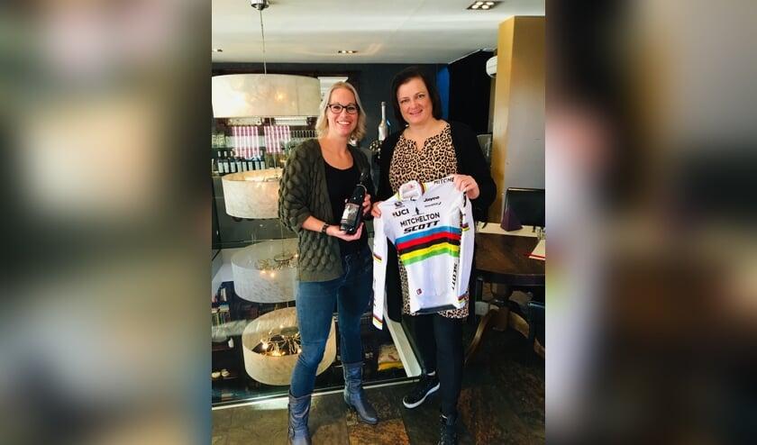 Marielle Klein Brinke (l.) en Wendie Kniewallner-Vrieler.Foto: PR