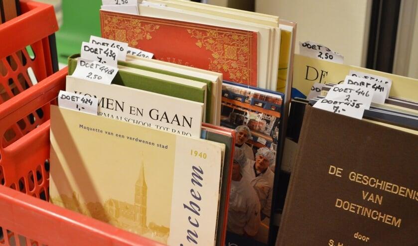 Streekboeken bij het Erfgoedcentrum Achterhoek en Liemers. Foto: PR