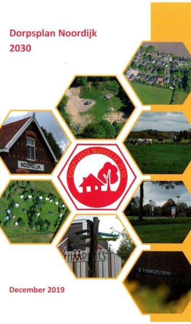 De omslag van van het nieuwe dorpsplan van Noordijk. Foto: PR