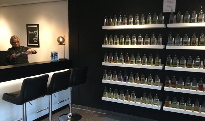 Nieuw in Lichtenvoorde: Parfumbar in Mirjams Beauty Centre.