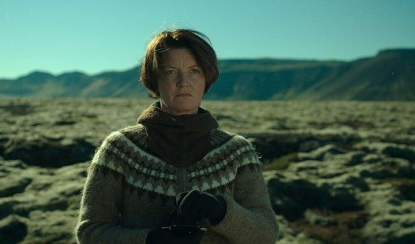 Halla, de hoofdrolspeelster uit Woman at War. Foto: PR