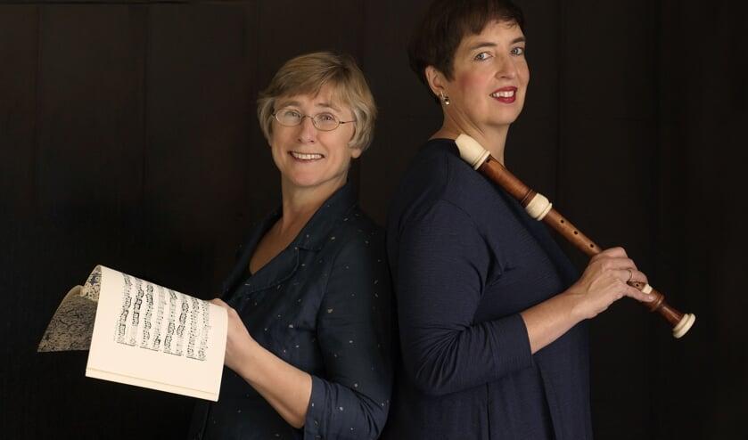 Duo Pasabien bestaat uit Pauline Schenck en Sabine d'Hont (rechts).