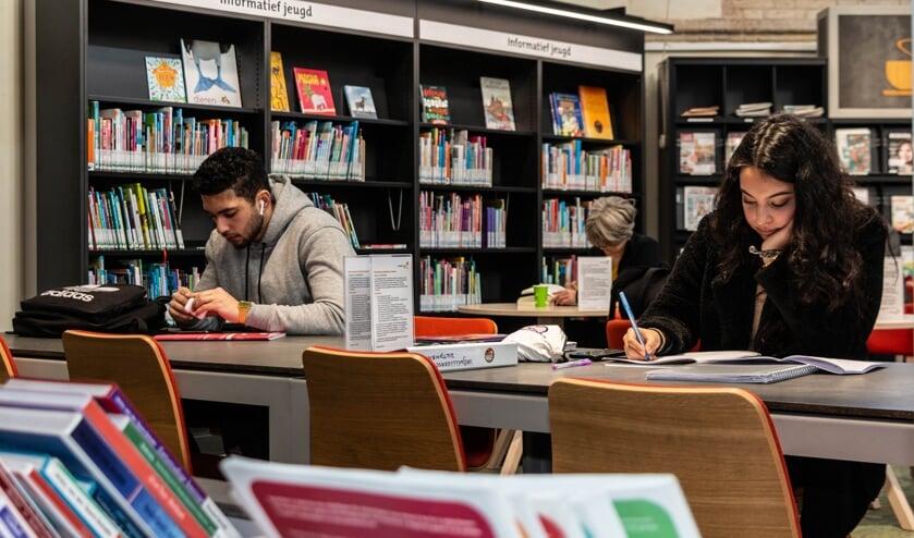 De bibliotheek biedt veel meer dan alleen de mogelijkheid om boeken te lenen een krant te lezen. Foto: Henk Derksen