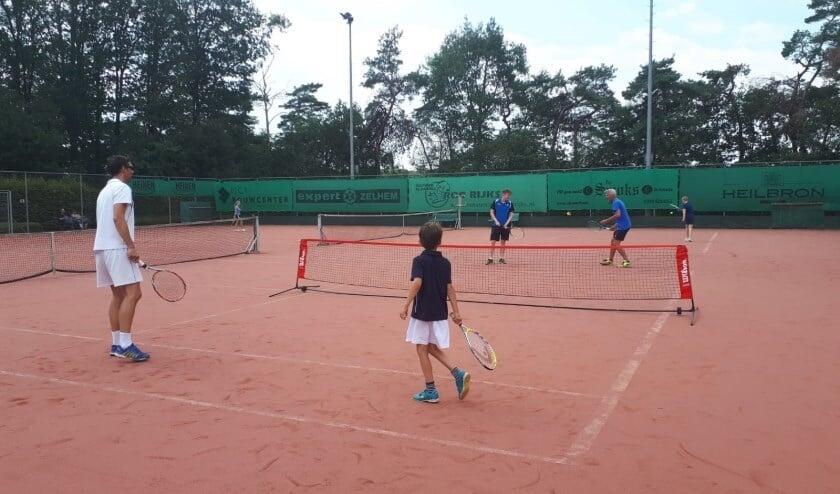 Padomazo toernooi is al jaren het leukste toernooi voor jong en oud bij LTC Zelhem. Foto: PR