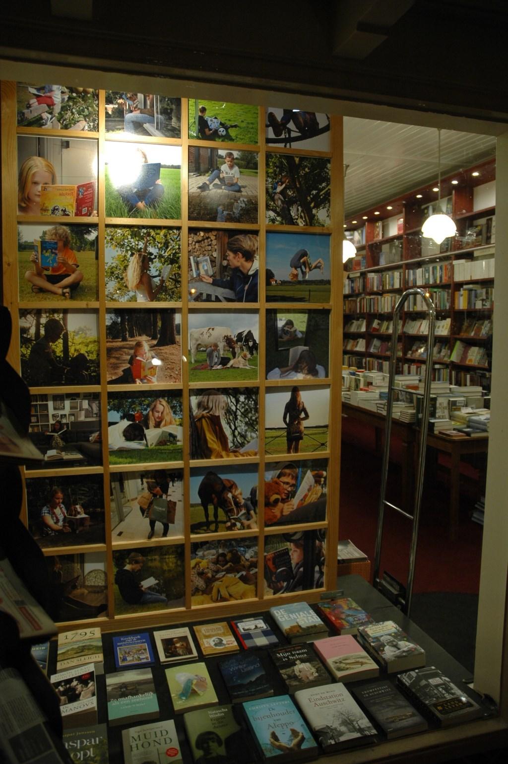 De expositie in Boekhandel Lovink. Foto: PR  © Achterhoek Nieuws b.v.