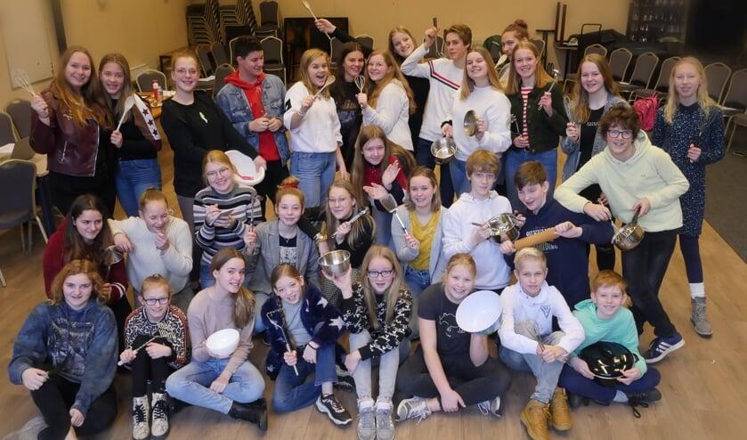 Harlekijn serveert Kookpunt – een smakelijke musical. Foto: Jan Nekkers