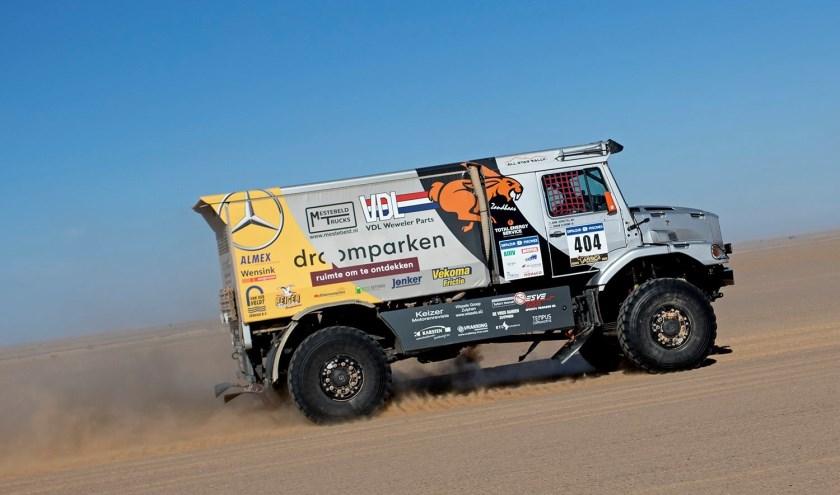 De truck van team All Star Rally. Foto: PR