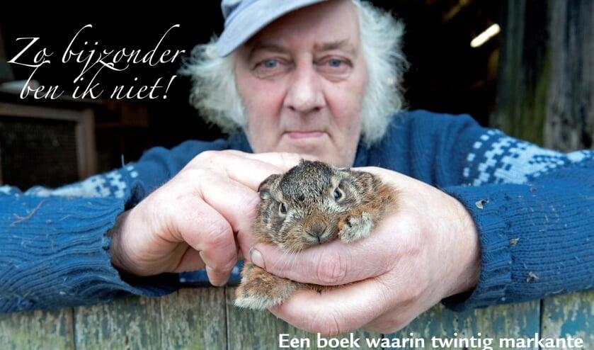 Yke Ruessink komt vertellen over het boek 'Zo bijzonder ben ik niet'. Foto: PR