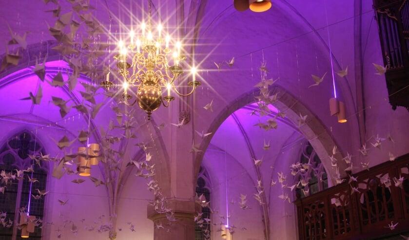 Het fraaie interieur van De Oude Mattheüs. Foto: Dick Lammers