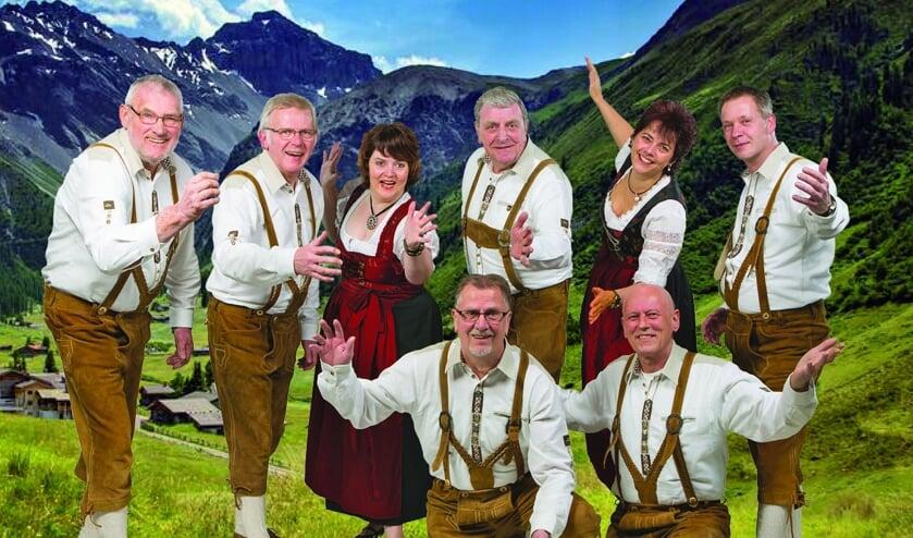 Deutsche Party met Die Slingetaler. Foto: PR