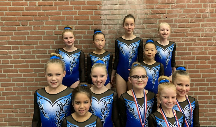 De meisjes van SZG. Foto: PR