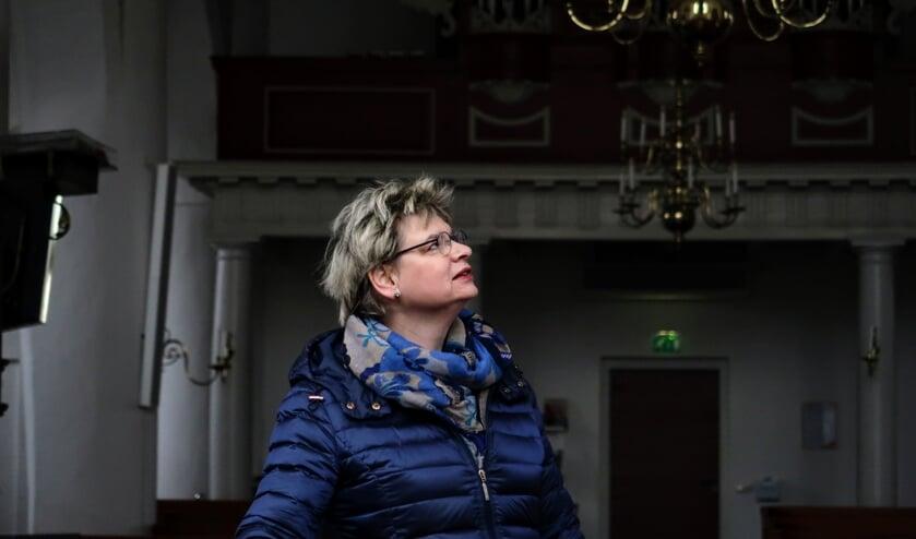 De Hengelose Remigiuskerk was vijftien jaar lang een vertrouwde plek voor dominee Aleida Blanken. Foto: Luuk Stam