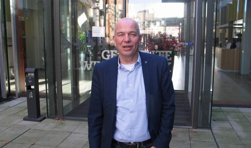 Wim Aalderink stopt vanwege gezondheid als wethouder. Foto: Bernhard Harfsterkamp