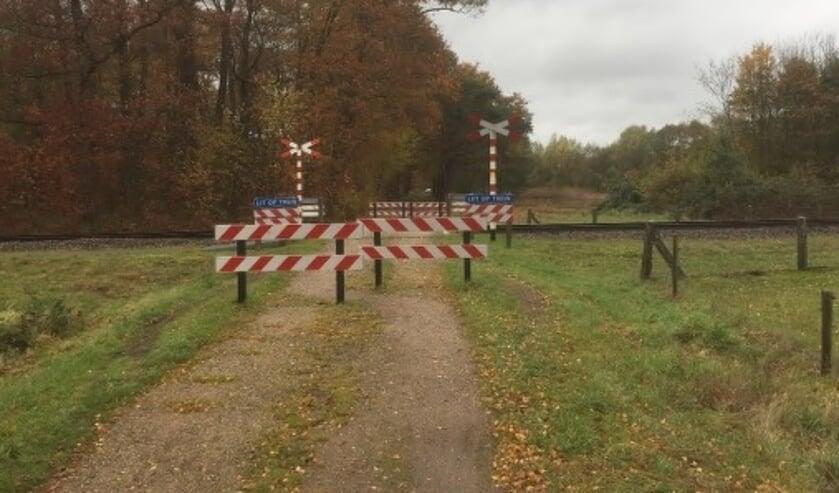 De overgang in de Greversweg. Foto: PR Gemeente