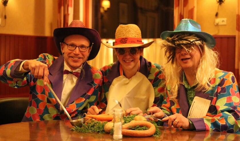 Gekostumeerd dineren geeft Medler een stevige bodem voor carnaval. Foto: PR