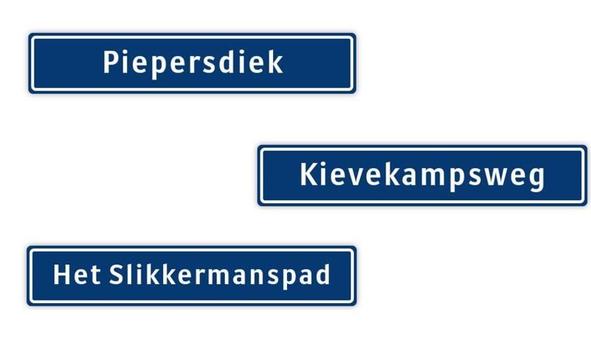 Oudheidkundige Vereniging Harvelt komt met nieuwe maar vaak al oude namen.