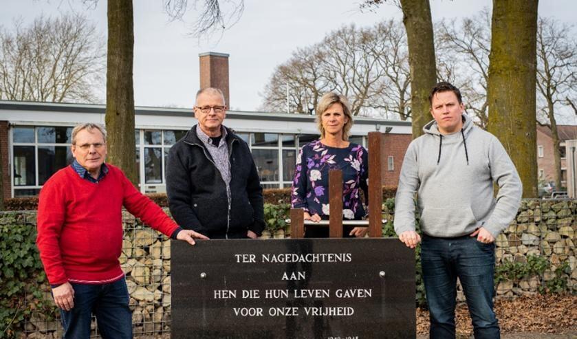 De 4-5 mei organisatie bij het herdenkingsmonument in Beltrum. Foto: PR