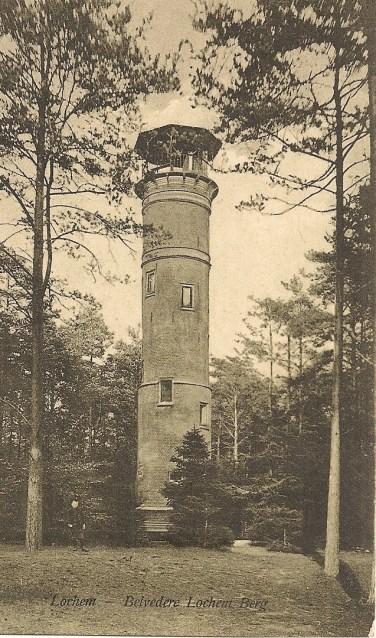 Uitkijktoren Belvédère circa 1920. Foto: PR