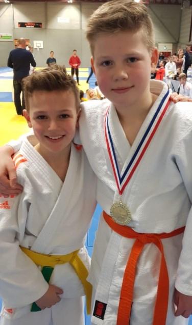 Rien Boomkamp (rechts) werd kampioen. Foto: PR