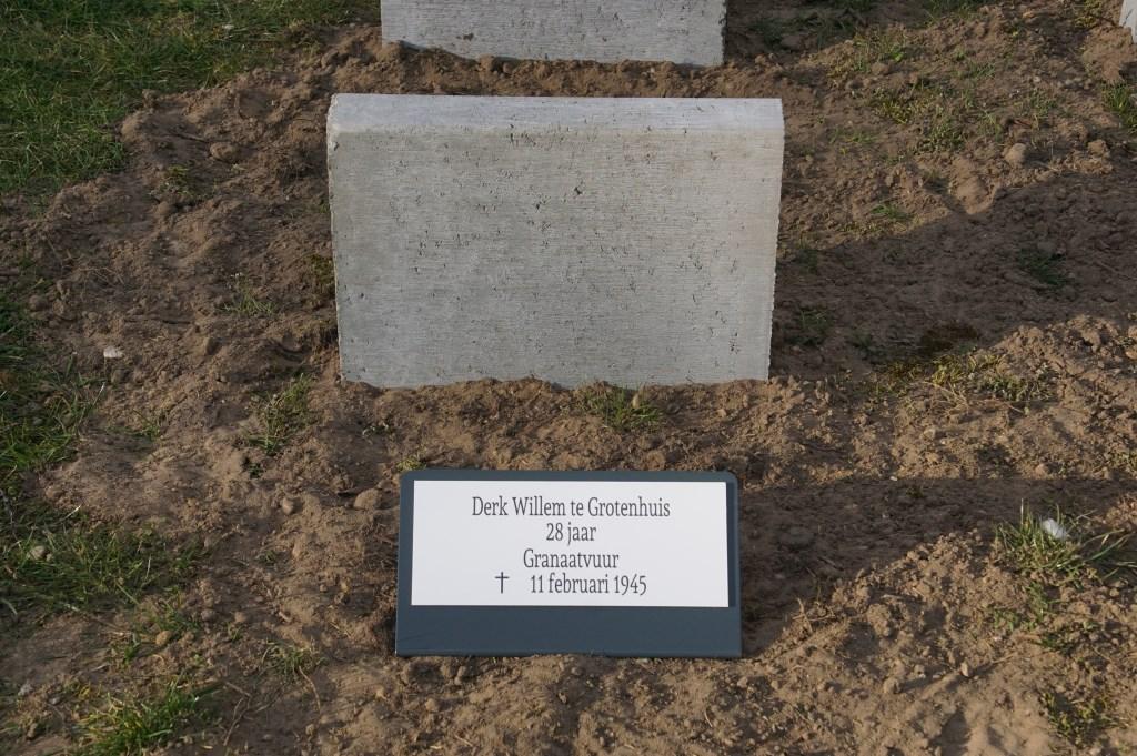 Derk W. te Grotenhuis, 28, bombardement  © Achterhoek Nieuws b.v.