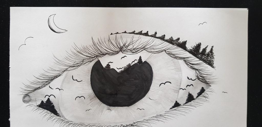 De tekening van Lore. Foto: PR  © Achterhoek Nieuws b.v.