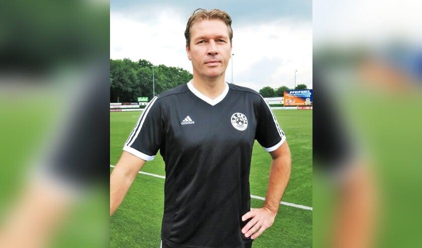 Sander Hoopman, momenteel voor het derde en laatste seizoen hoofdtrainer van S.V. Grol. Foto: Theo Huijskes