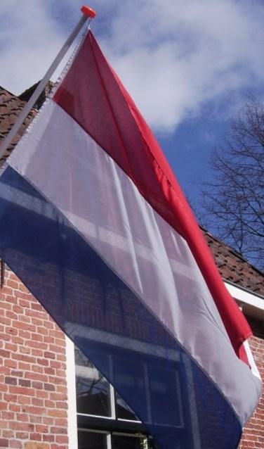 Vlaggen op de dag van de Bevrijding. Foto: PR
