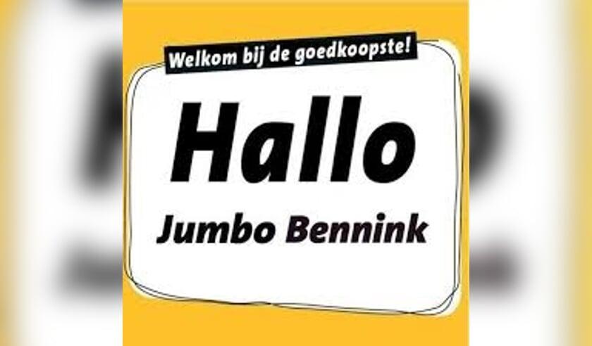 Jumbo Bennink start met een 'ouderenuurtje' . Logo: PR