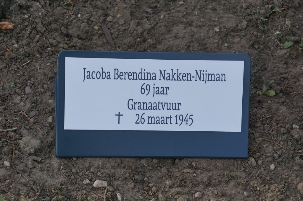 Jacoba B. Nakken-Nijman, 69. granaatvuur  © Achterhoek Nieuws b.v.