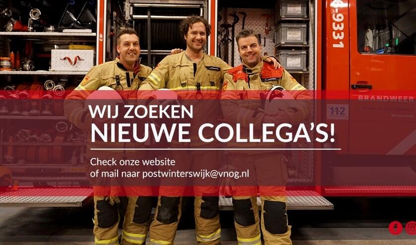 Brandweer Winterswijk zoekt nieuwe collega's. Foto: PR