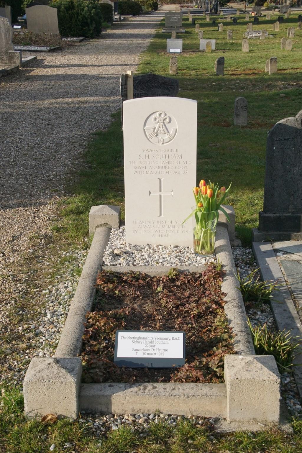 Sidney Harold Southam, 22, Panzerfaust De Heurne  © Achterhoek Nieuws b.v.