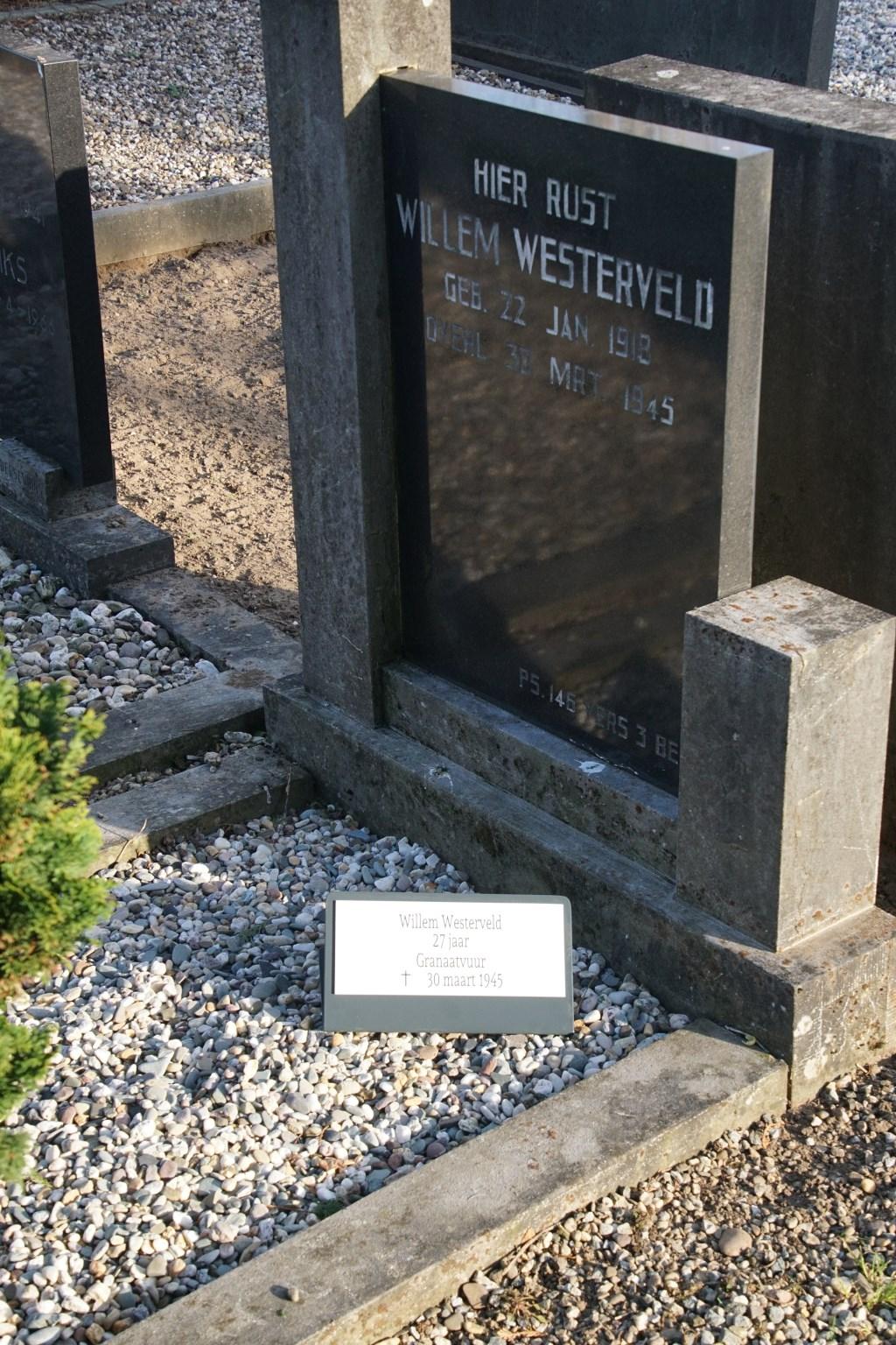 Willem Westerveld, 27, granaatvuur  © Achterhoek Nieuws b.v.