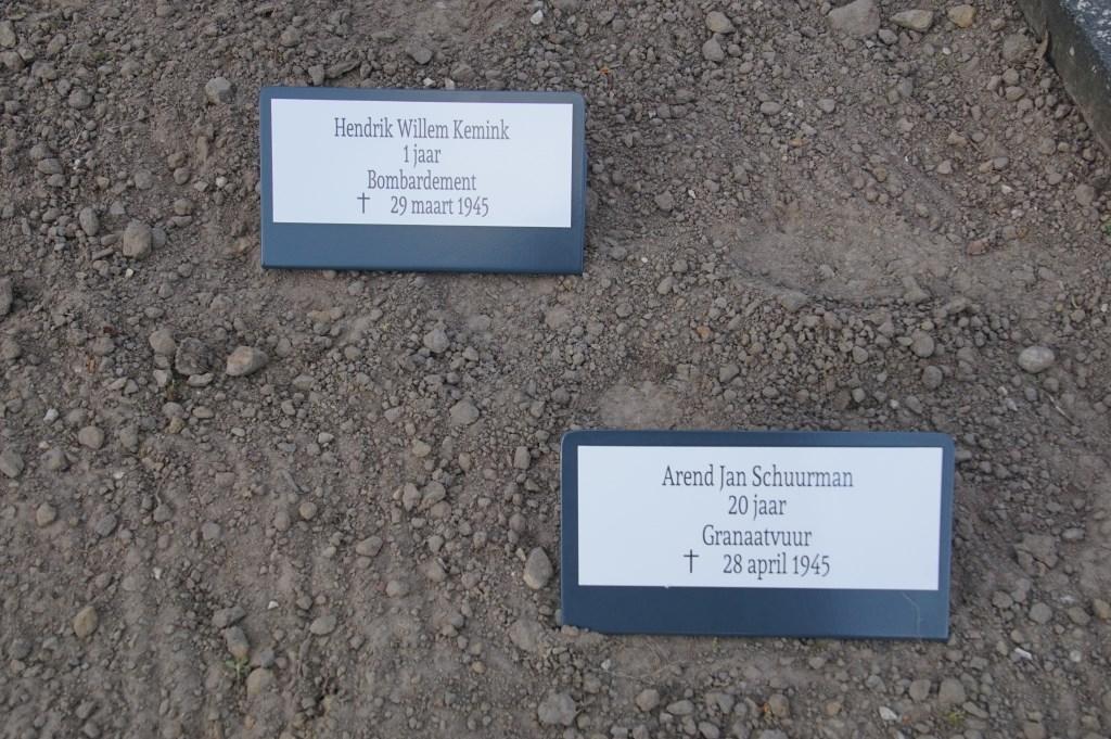 Hendrik W. Kemink, 1, granaatvuur; Arend J. Schuurman, 20, granaatvuur  © Achterhoek Nieuws b.v.