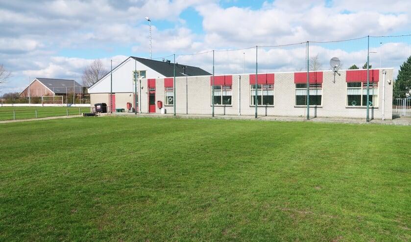 Het sportpark Het Wilgenpark van S.V. Grolse Boys, dat met ingang van 1 augustus niet meer in de huidige functie zal bestaan. Foto: Theo Huijskes
