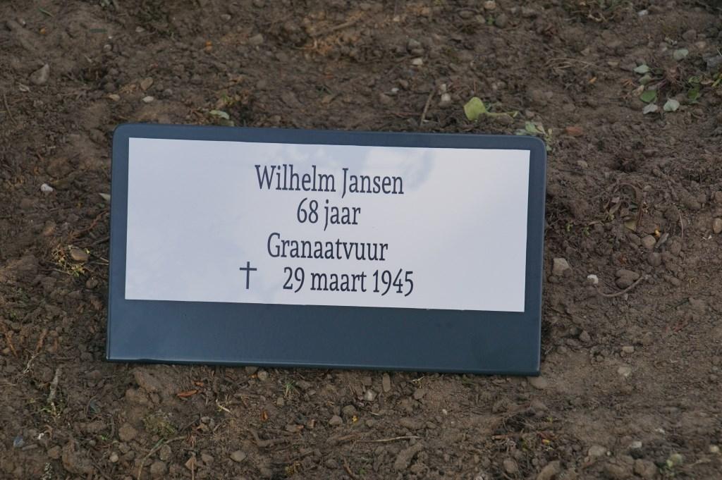 Wilhlem Jansen, 68, granaatvuur  © Achterhoek Nieuws b.v.
