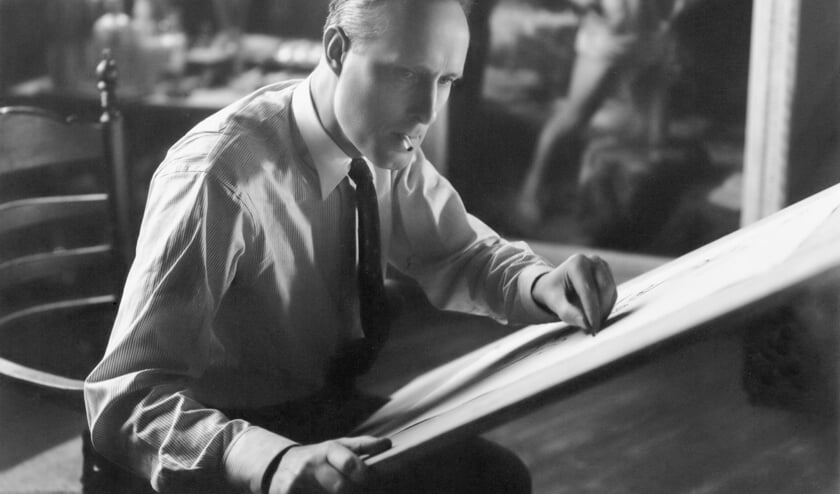 Carel Willink, circa 1947. Foto Atelier J. Merkelbach, Stadsarchief Amsterdam