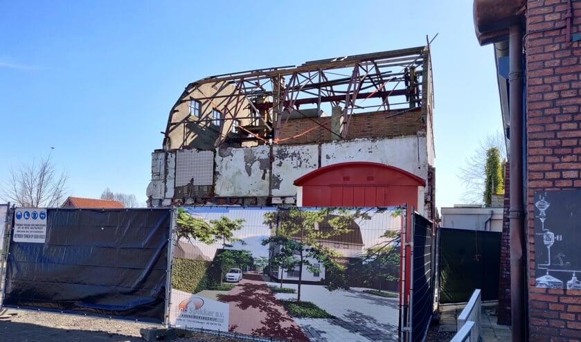De voormalige maalderij wordt verbouwd tot appartementen. Foto; Rob Stevens