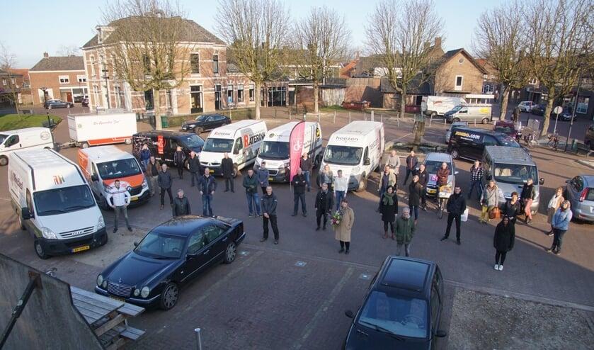 De Dinxperlose ondernemers zetten zich in om de samenleving zo goed mogelijk te steunen. Foto: Frank Vinkenvleugel