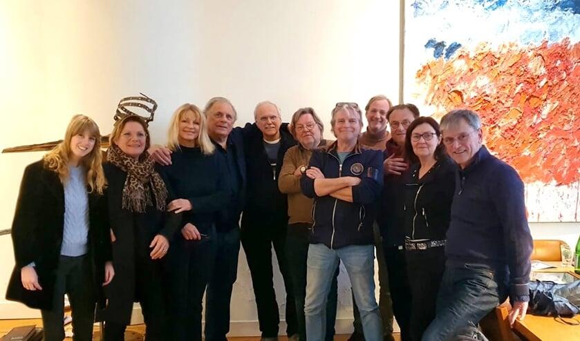In januari bezocht een afvaardiging van KiK Jan en Babette Cremer aan de Keizersgracht in Amsterdam. Foto: archief Achterhoek Nieuws
